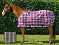 Kensington Protective Fly Sheet, Plum Ice & Plum Plaid, 50'' - 68""