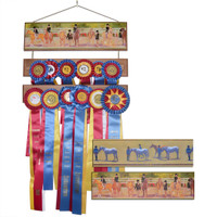 Horse Show Ribbon Bar with Wallpaper Border