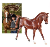 Canterwood Crest's Book 1 'Take the Reins' with Breyer Model Charm