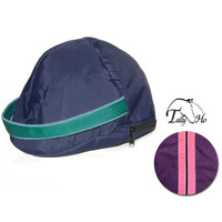 Tally Ho Fleece Lined Helmet Bag With Piping