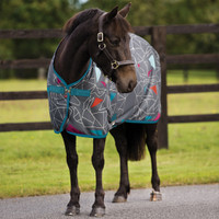 "Amigo Jersey Cooler, Origami with Teal Trim, 48"" - 69"""