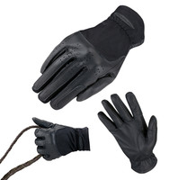 Heritage Kids Show Glove - Black, Sizes 2 - 6