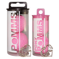 Pomms in Pink, Premium Equine Ear Plugs, 2 Sizes