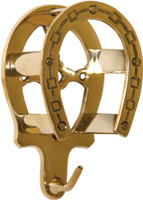 Brass Bridle Bracket
