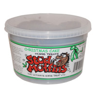 Stud Muffins 20 oz Tub of Horse Treats, Chistmas Cake Flavor