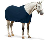 Centaur Turbo-Dry Dress Sheet, Navy and Black, Pony & Cob