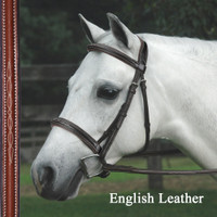 Bobby's Signature Padded, CONTOUR Crown, Fancy Bridle with Fancy Reins