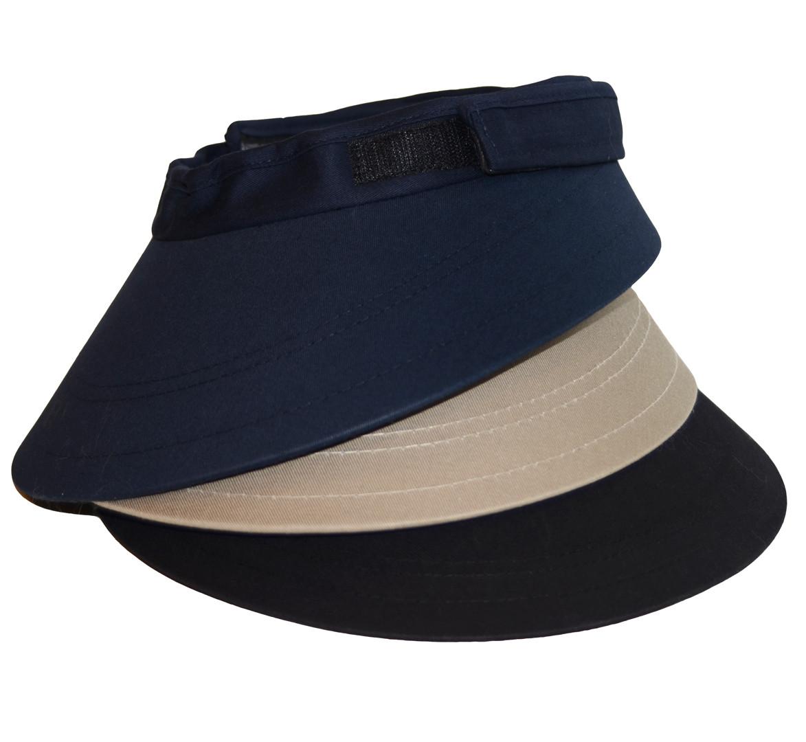 EquiVisor Helmet Visor, Black, Khaki or Navy