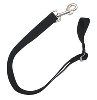 Equi-Essentials Adjustable Elastic Leg Straps, One Bolt Snap, Pair