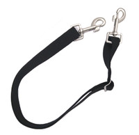 Equi-Essentials Adjustable Elastic Leg Straps, Two Bolt Snaps, Pair