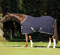 "Amigo Pony Stable Sheet, Navy with Silver, 45"" - 60"""