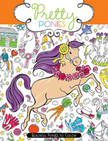 Pretty Ponies: Beautiful Ponies to Color