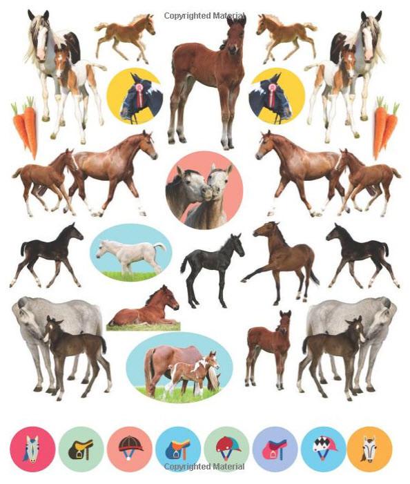 Eyelike Stickers Horses