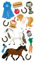 Classic  Pony Show Stickers