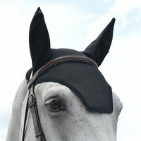 EquiFit Ear Bonnet, Pony, Black