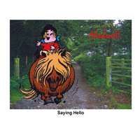 "Thelwell ""Out and About"" Greeting Card: 'Saying Hello'"