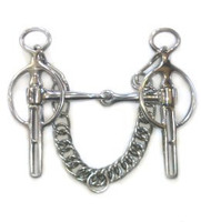 "Liverpool Snaffle, 4.25"" & 4.5"""
