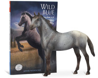 Wild Blue, Breyer Book & Model Set