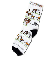 Horses and Horseshoe Socks, Childs & Ladies