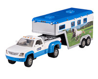 Breyer Stablemates Pickup Truck and Gooseneck Trailer