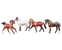 Breyer Stablemates Super Sporty Set of 4 Models
