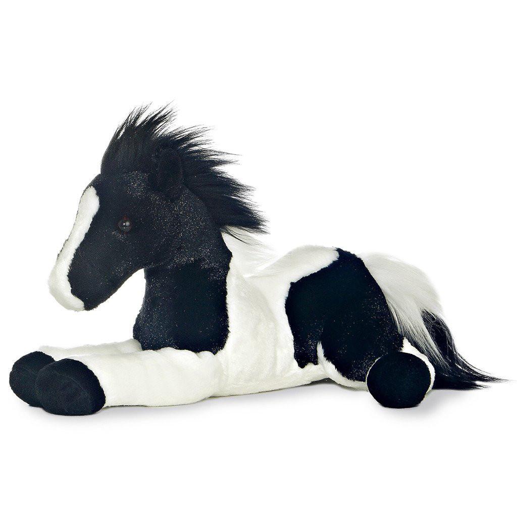 Aurora Flopsie Star Black White Pinto
