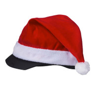 Holiday Santa Helmet Cover