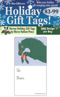 'Green Hunter' Holiday Gift Tags, Pack of 12
