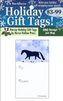 'Trotting In the Snow' Holiday Gift Tags, Pack of 12