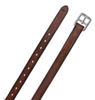 "Ovation Solid English Leather Stirrup Leathers, 36"""