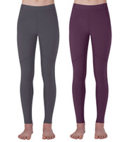 Kerrits Kids Ice Fil Tech Tight, Ebony and Plum