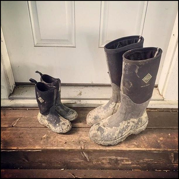 Get Muddy with Muck Boots