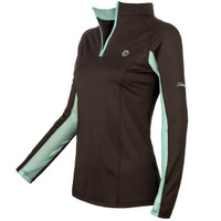 Kathryn Lily ProAir2 Sunshirt, Chocolate with Tiffany, Childs Small Only