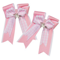 Belle & Bow Show Bows, Pink Smarties