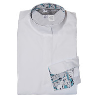 RJ Classics Rebecca Jr Shirt - White with French Bulldogs, XS - XL