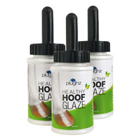 Plughz Healthy Hoof Glaze, 8 Oz Tub & Brush Cap