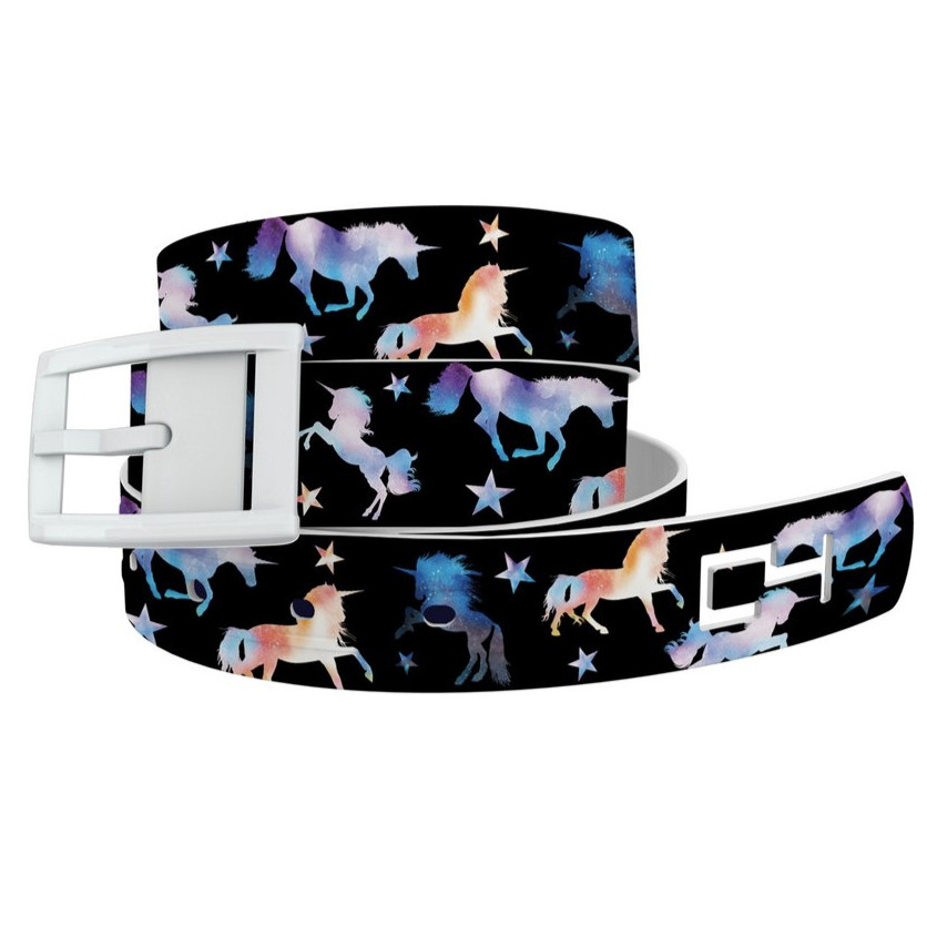 Unicorn Magic, White Buckle