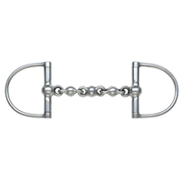 Shires Waterford Large Ring Waterford Dee Bit, 4.5""