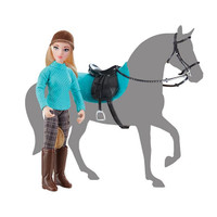 Breyer Freedom Series/Classics Heather, English Rider with Tack