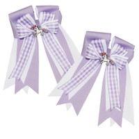 Belle & Bow Show Bows, Purple Smarties