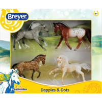 Breyer Stablemates Dapples & Dots, Set of 4 Models