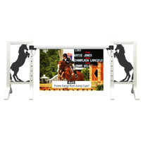 Black Stallion Frame from Model Horse Jumps