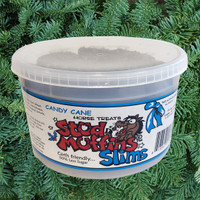 Stud Muffins SLIMS 20 Oz Tub of Horse Treats,  Candy Cane Flavor