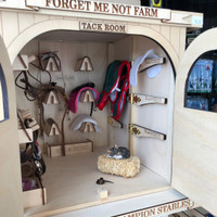 Model Horse Jumps Tack Room