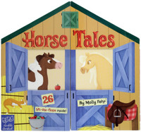Horse Tales, Board Book with 26 Lift-The-Flaps Inside