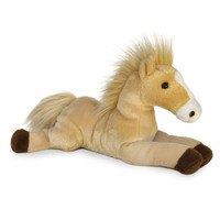 "Aurora 12"" Flopsie, Butterscotch, Palomino with White Blaze"