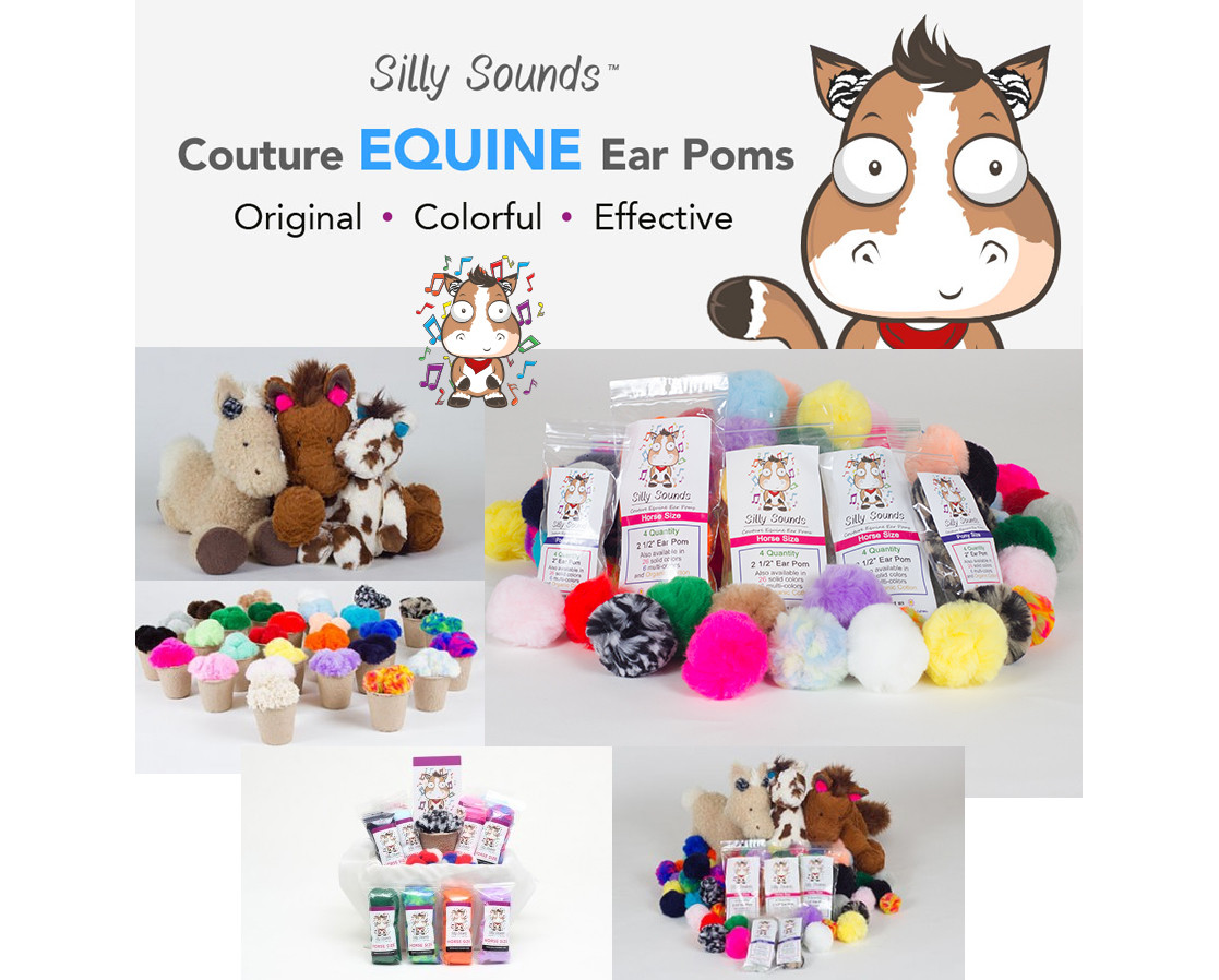 Silly Sounds Horse Ear Plugs Barn Pack