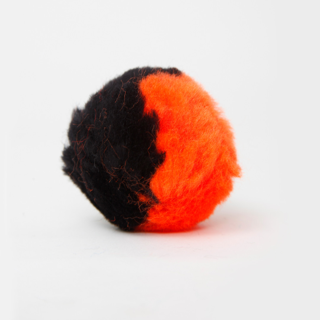 Black/Orange 2-Tone