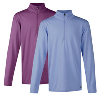 Kerrits Kids Ice Fil Long Sleeve Shirt, Amethyst & Wisteria