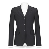 RJ Classics Ellie Show Coat, Black, Sizes 2 - 16